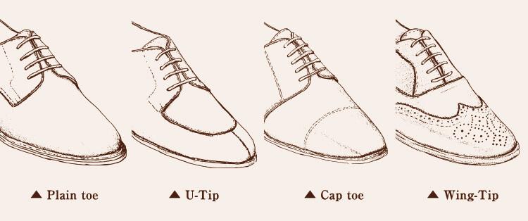 鞋面設計類型圖