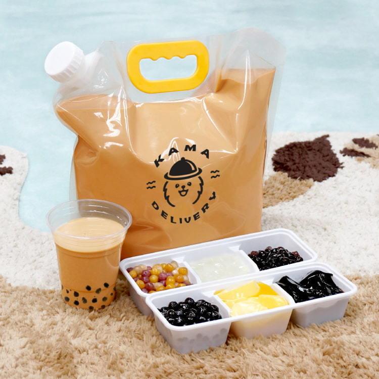 派對必備的特大袋裝奶茶 船P到會美食推介2021 Kama Delivery外賣服務專家