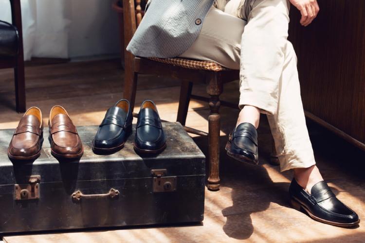 林果良品經典雙縫線便仕樂福鞋-咖啡、藏青、黑色