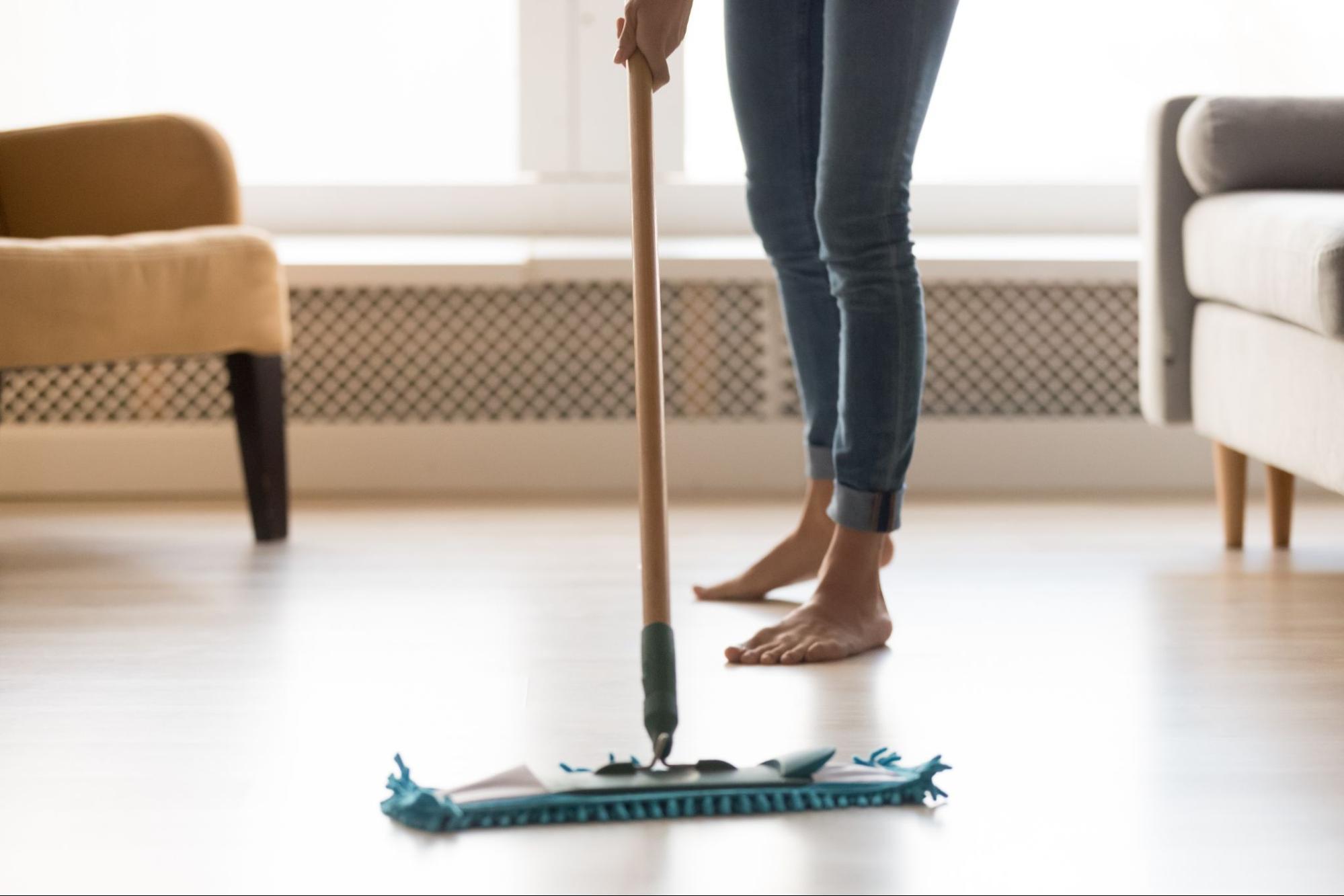 木地板清潔