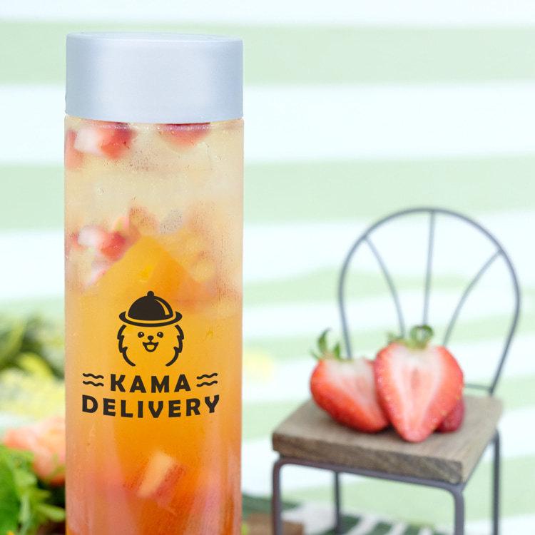 戀上草莓玫瑰茶|包裝靚靚散水飲品推介【轉工升職必讀】|Kama Delivery到會外賣速遞服務