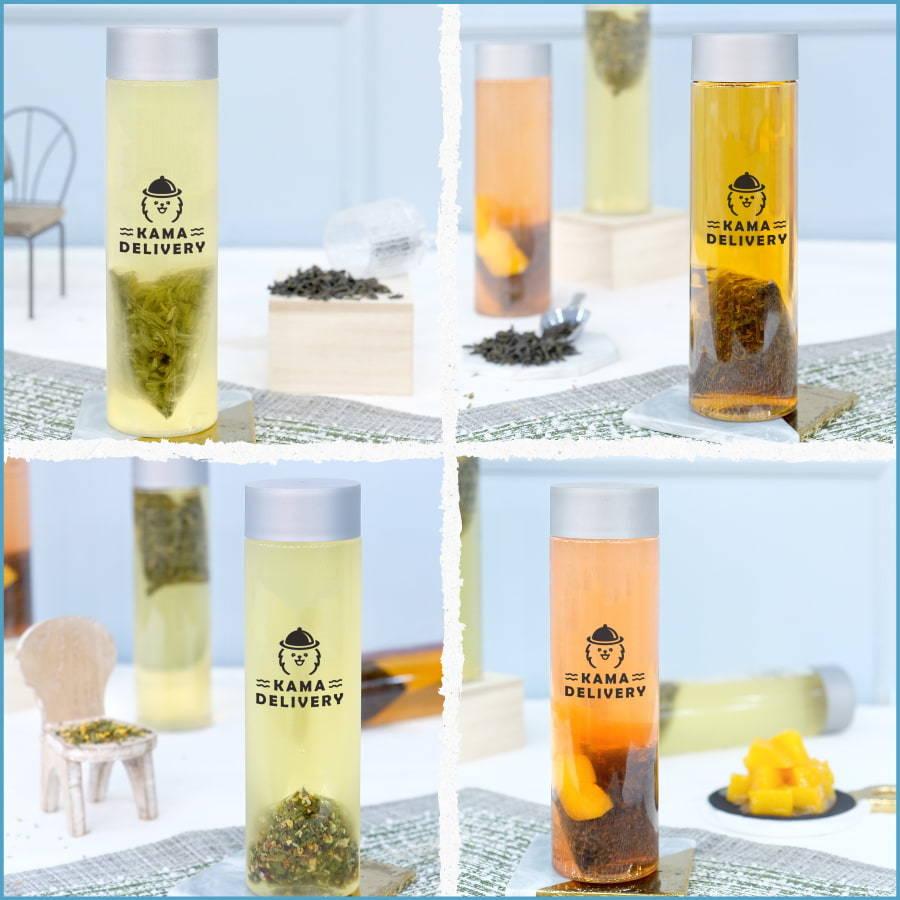 Kama Delivery推出的冷萃茶到會飲品系列