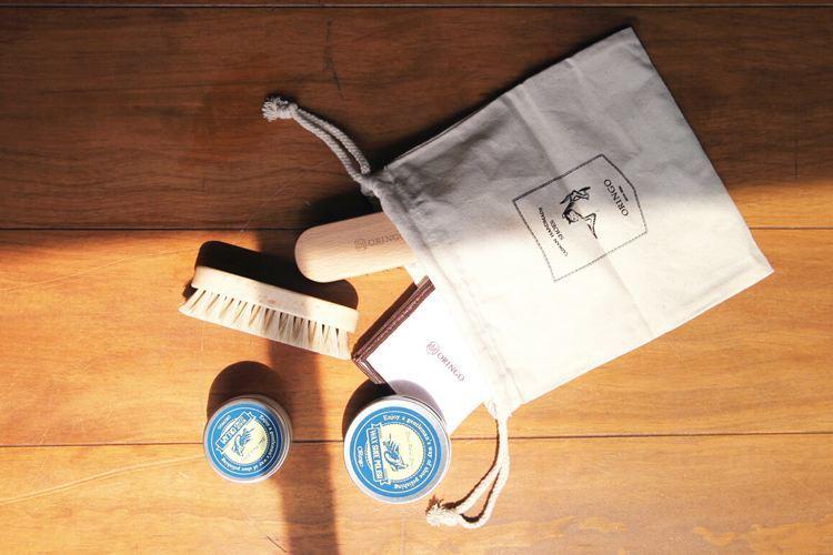 林果紳士皮件保養組: 清潔、滋養、打亮