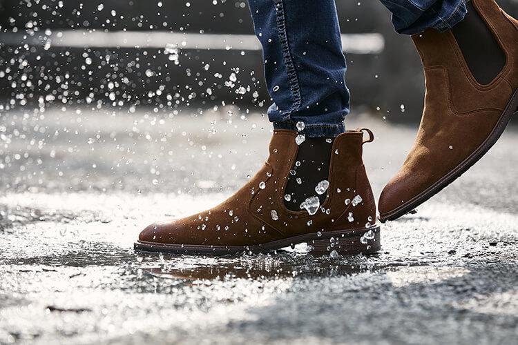 林果良品棕色的3M防水雀爾喜靴