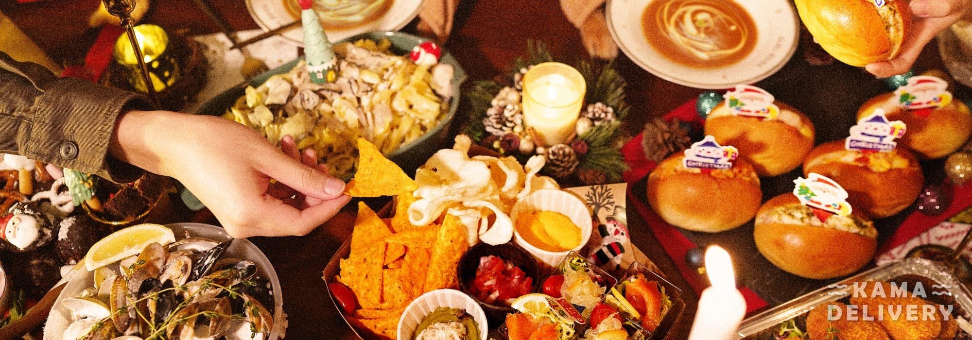 每逢節日訂到會|美食到會外賣服務推介|Kama Delivery Catering Service