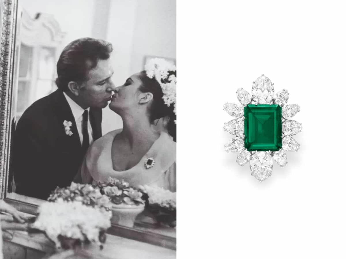 伊麗莎白·泰勒的寶格麗祖母綠胸針於2011年佳士得拍賣會售出,成交價6,130,500美元,折合新台幣約1.8億元。