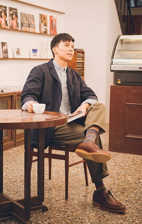 休閒皮鞋穿搭是個人風格態度的展現