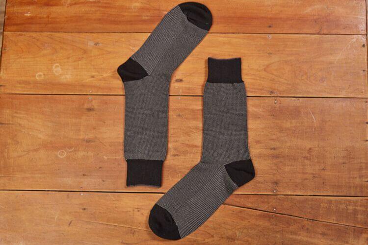 入門推薦 鳥眼織紋紳士襪