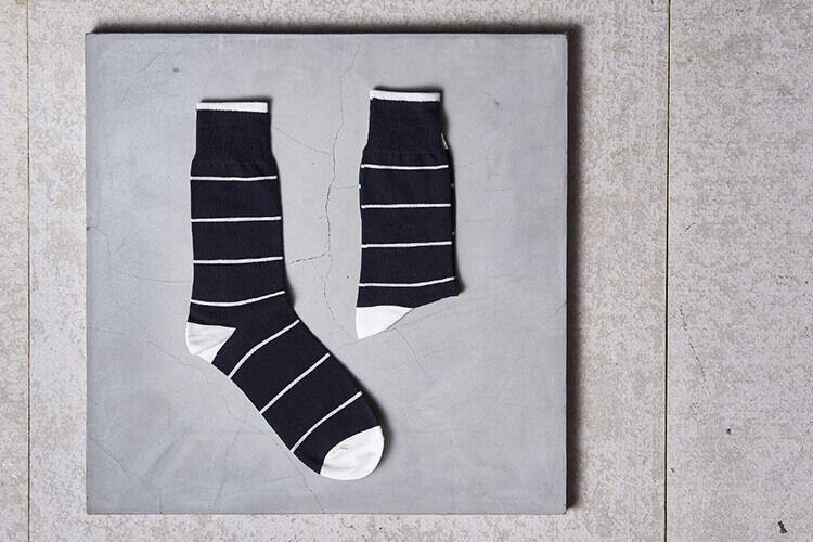 中階班推薦 水手條紋紳士襪