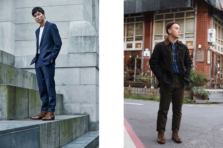 牛津男靴具有紳士感,是可以正式又可以休閒的男靴款式