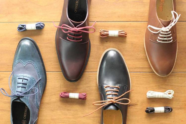 紳士鞋的鞋帶顏色搭配鞋面顏色