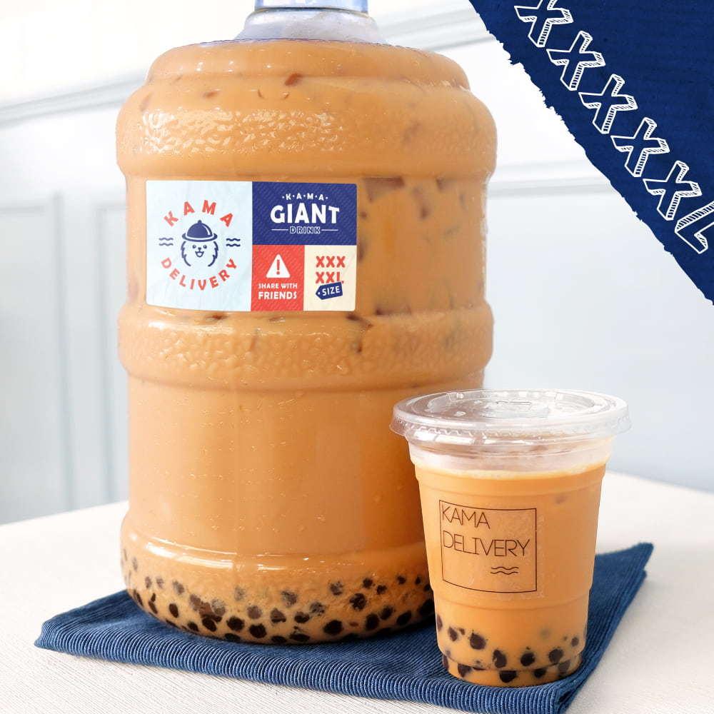 派對必備|特大桶裝珍珠奶茶|Kama Delivery到會飲品外賣服務