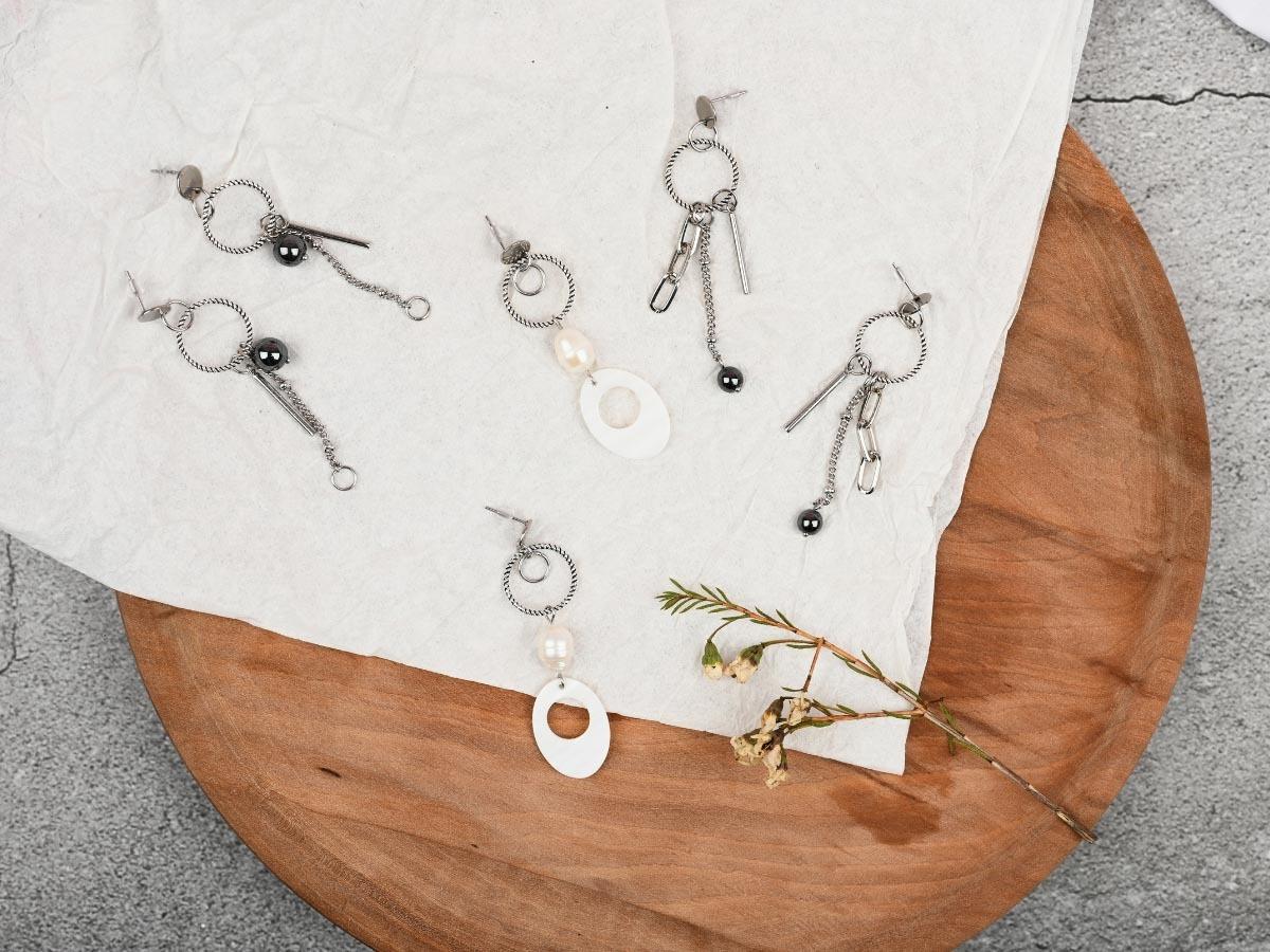 鎳、鉻、鈷常用於飾品合金成分,加強堅固性,讓飾品更耐用