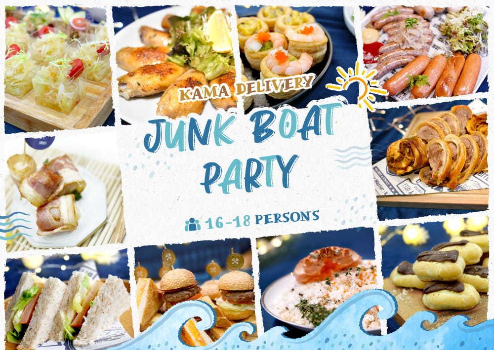船P、遊船河美食推介 Party Food 西式派對食物外賣推薦 Kama Delivery Catering