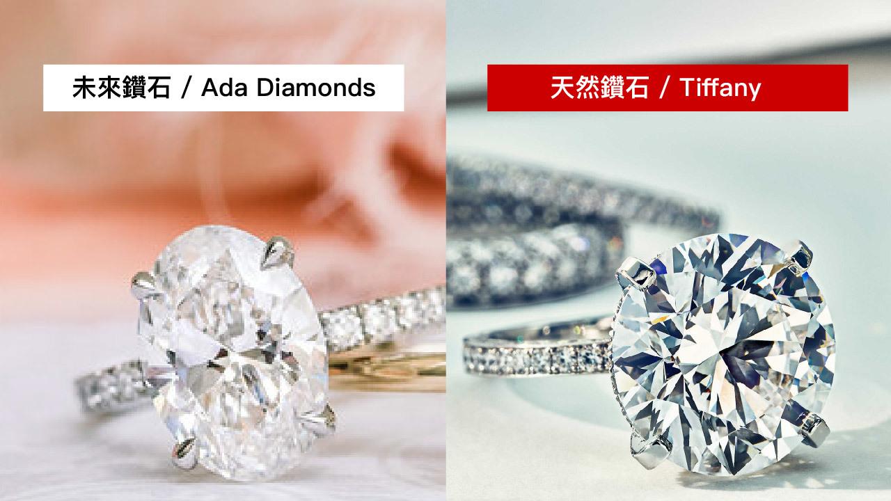 未來與天然鑽石難以肉眼辨識
