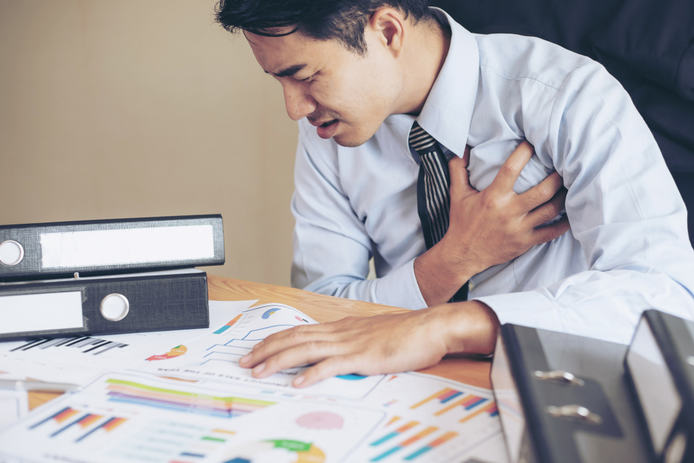膽固醇過高影響:心絞痛