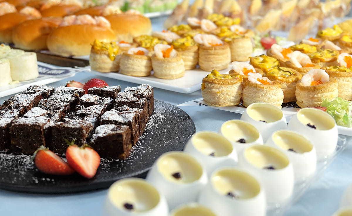 各類美食一應俱全|豐富餐飲服務經驗|Kama Delivery婚宴到會專家