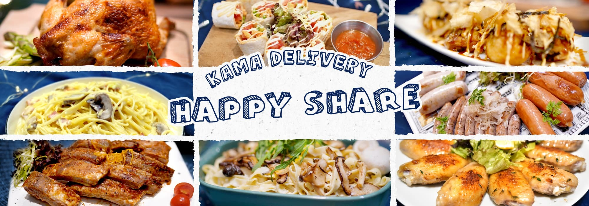 10人到會外賣套餐推介|Kama Delivery