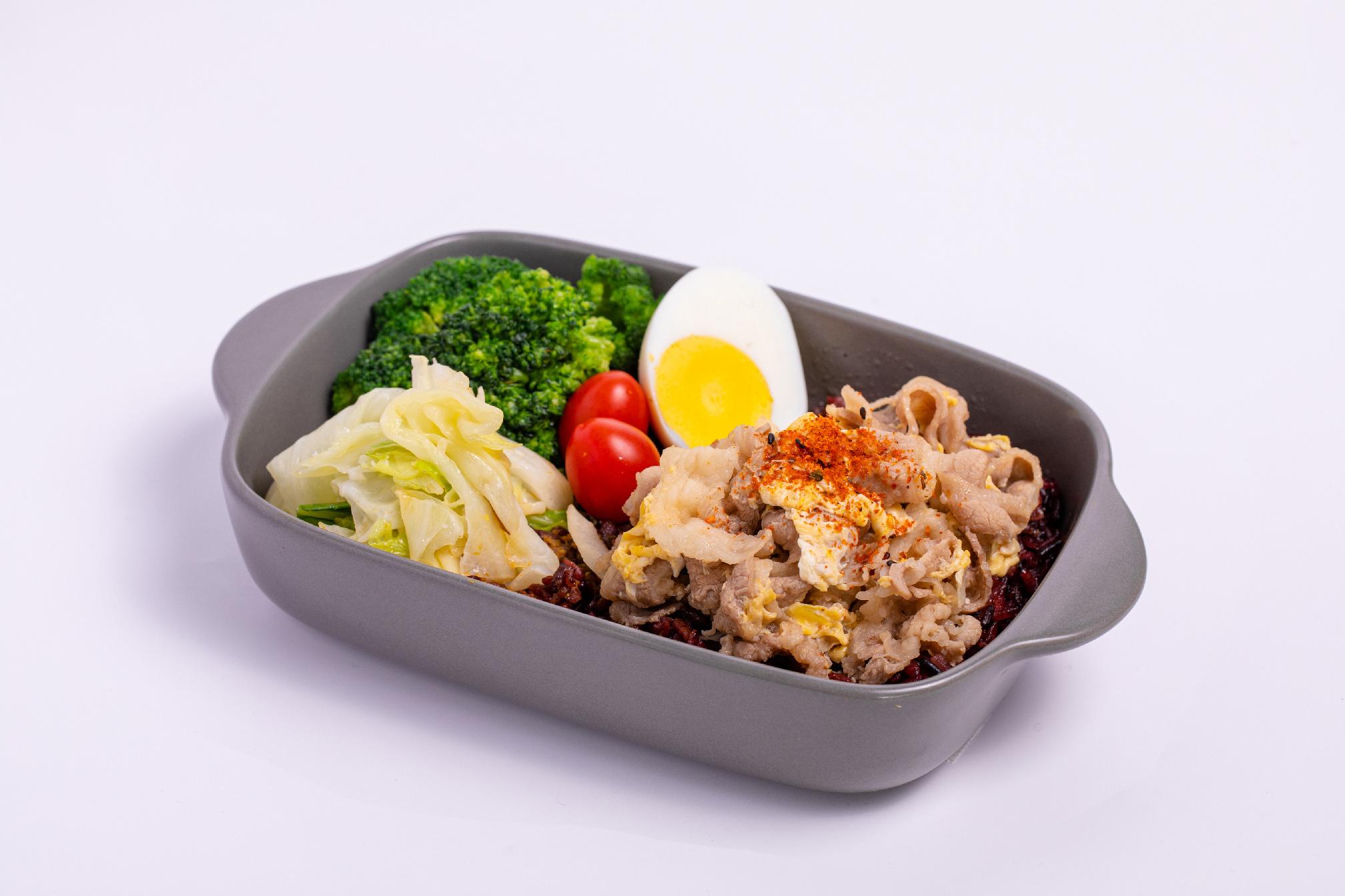 JohnnyBro,強尼兄弟,強尼兄弟健康廚房,台北健康餐,健身餐,會議便當,水煮餐,外送,低gi,日式牛丼,特餐