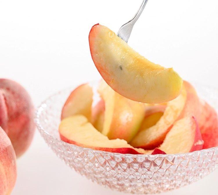 一起來吃香濃的日本山梨縣水蜜桃吧