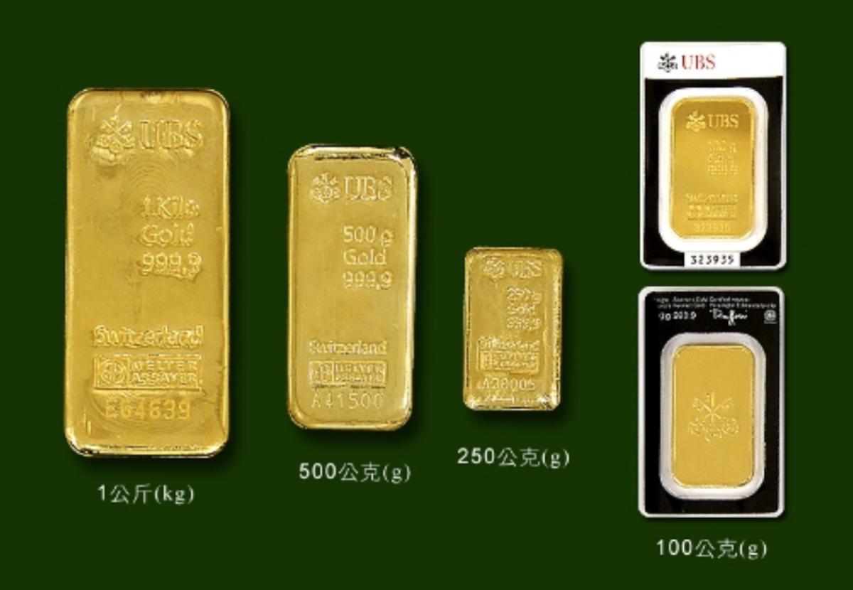 金條、金幣、金飾重量單位大不同?