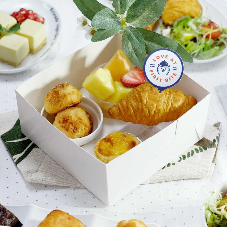 四格甜點盒 西式小食餐盒 到會外賣推介2021 Kama Delivery美食速遞服務