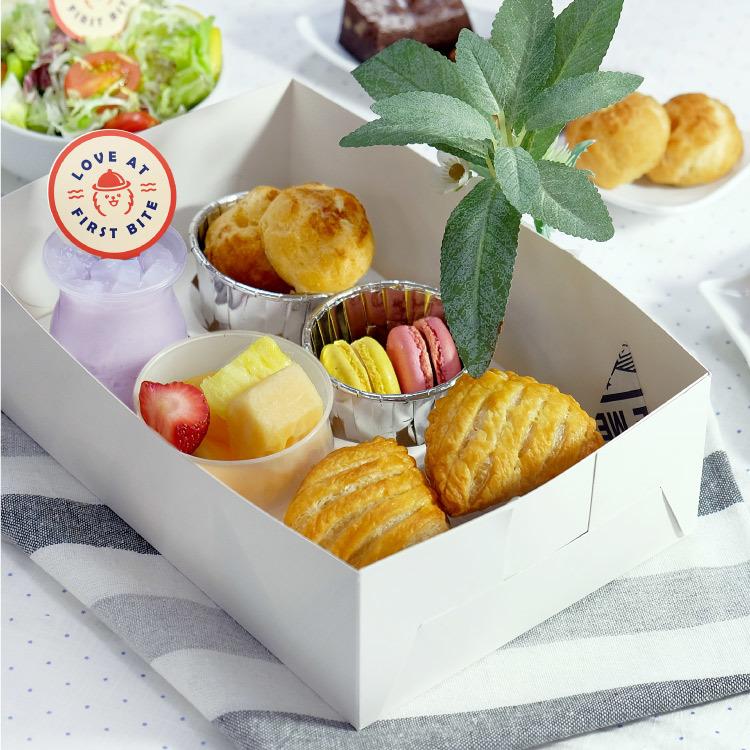 五格甜點盒 散水餅盒 到會外賣推介2021 Kama Delivery美食速遞服務