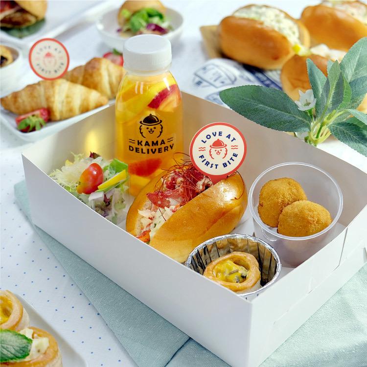 五格咸點盒 精美小食餐盒 到會外賣推介2021 Kama Delivery美食速遞服務