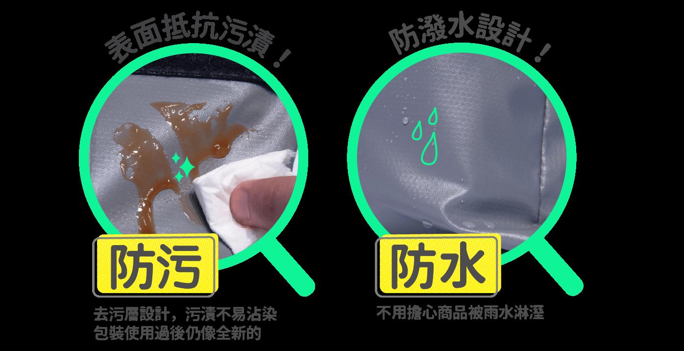PackAge+網購包裝袋防污又防水
