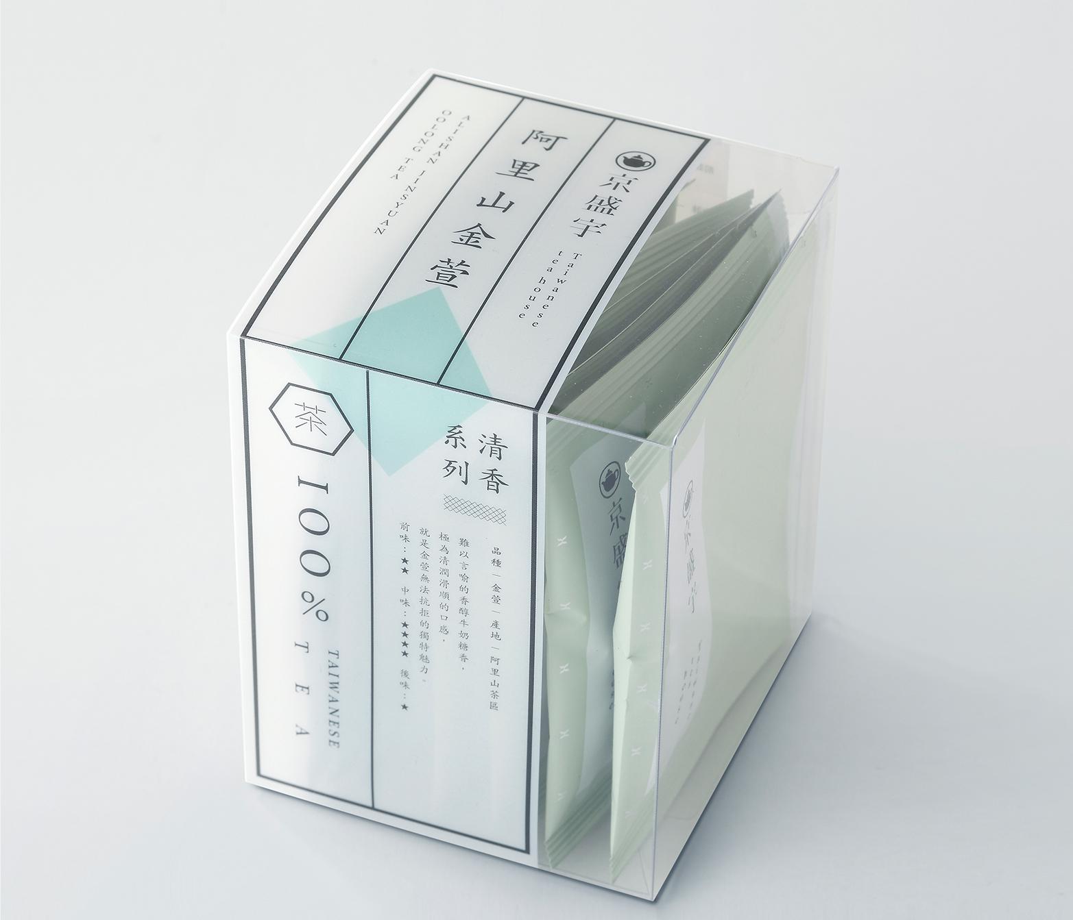 阿里山金萱8入盒裝袋茶 金萱樹種特有的奶糖香,觸動味蕾的驚喜口感。