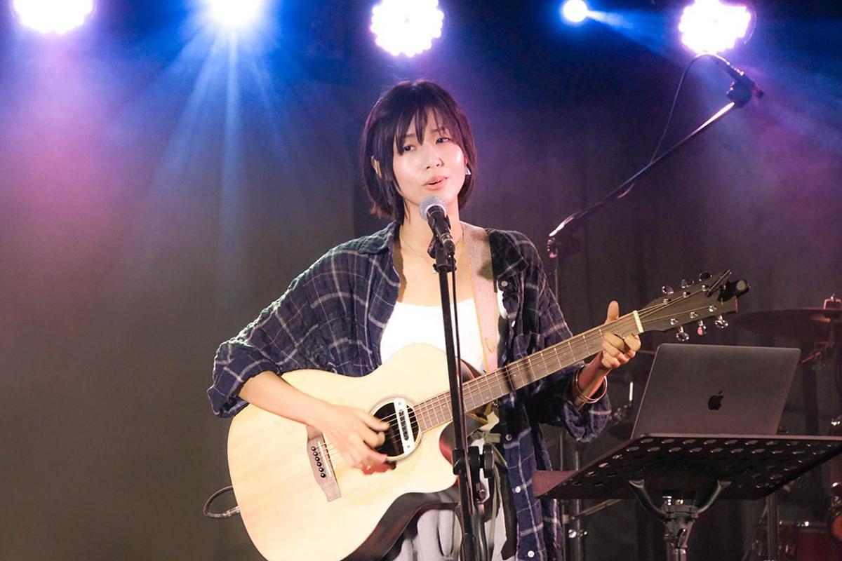 阿子在臺北杰克音樂演唱