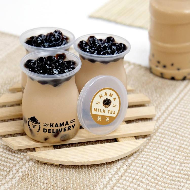 珍珠奶茶布丁 甜品到會外賣推介2021 Kama Delivery到會外賣服務