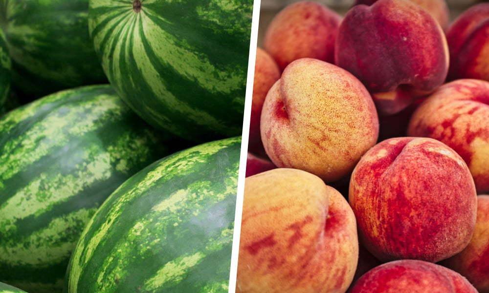 西瓜與水蜜桃|【水果混吃禁忌】必懂3對相剋的生果大公開|Kama Delivery美食速遞服務