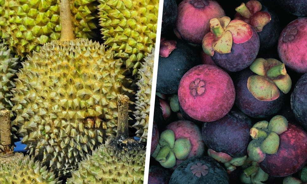 榴槤與山竹|【水果混吃禁忌】必懂3對相剋的生果大公開|Kama Delivery美食速遞服務