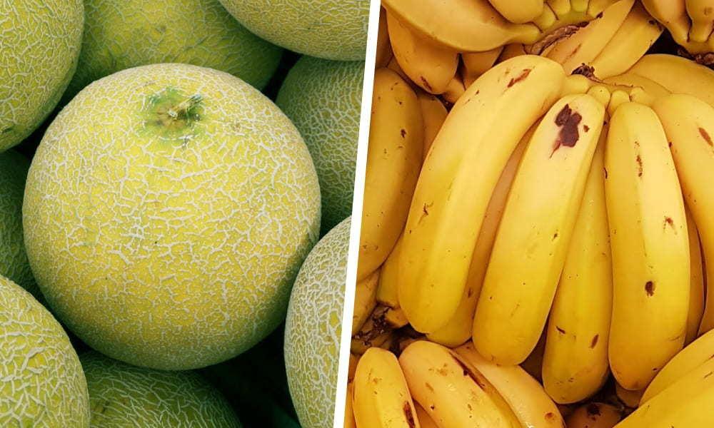 哈密瓜與香蕉|【水果混吃禁忌】必懂3對相剋的生果大公開|Kama Delivery美食速遞服務