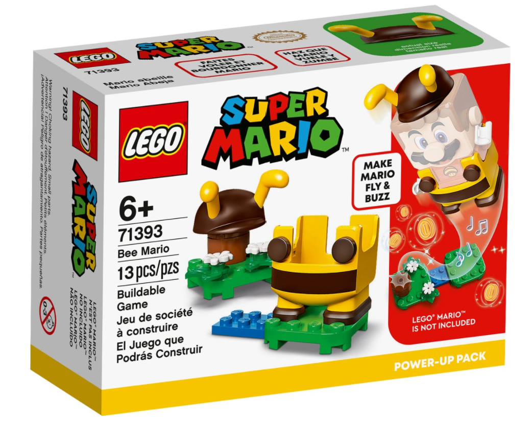 LEGO 71393 Bee Mario Power-Up Pack 蜜蜂瑪利奧升級換裝 (Super Mario 超級瑪利奧)
