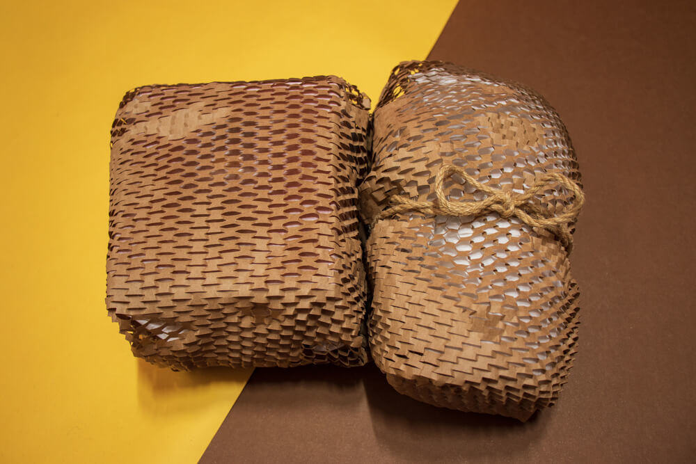 環保緩衝材:蜂巢紙