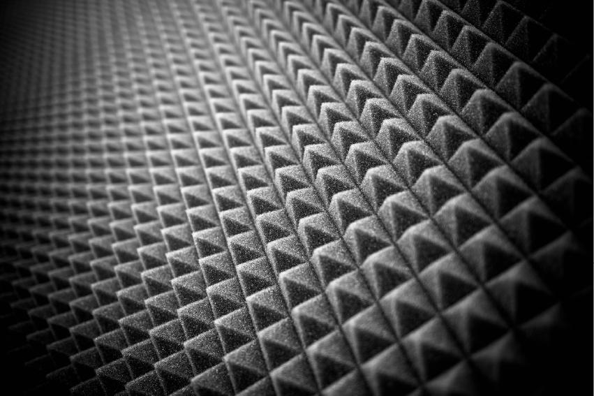 金字塔形的吸音板、隔音板