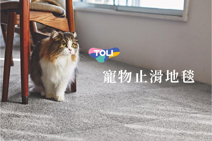 寵物地墊地毯推薦:90s TOLI寵物止滑地毯