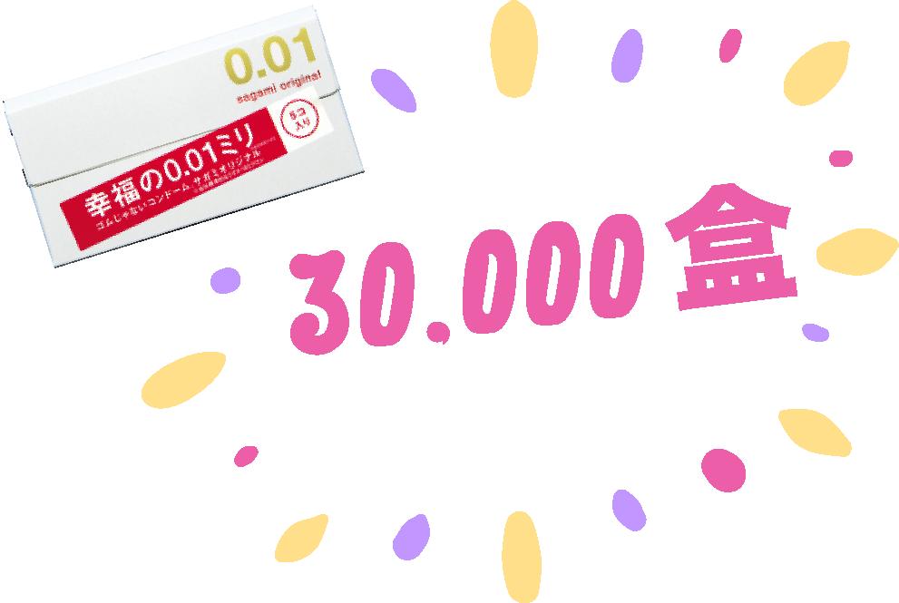 於SexFunHK售出3萬盒