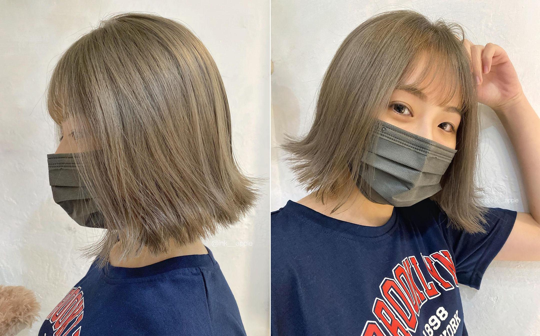 Ink Hair 設計師作品集-大勢短髮圖鑑|現在短髮美女才是王道,5款熱門短髮造型推薦,大勢短髮女生造型一:髮尾外翹短髮