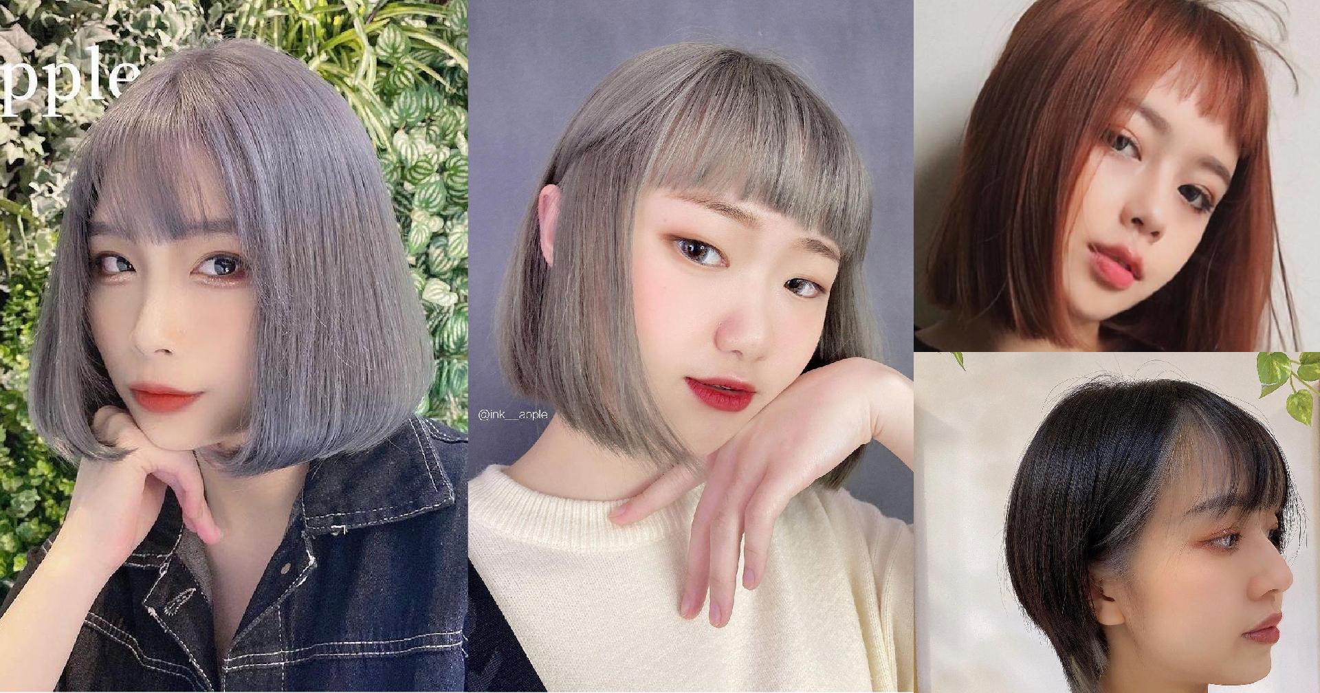 【Ink Hair 設計師作品集 – 短髮造型】5種女生必備超美短髮,想剪短的衝動又來了!