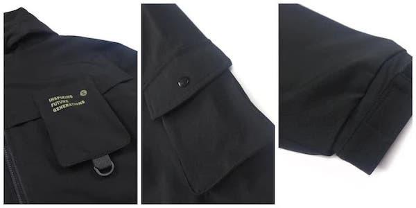 RETOP 工裝軍風系列 衝鋒造極機能連帽風衣外套|風衣外套推薦|2021風衣外套穿搭|秋冬男款薄風衣|男款運動風衣|RETOP服飾官方購物網站-台灣原創潮流品牌