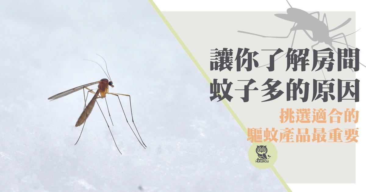 房間很多蚊子有解嗎?ptt網友都說房間驅蚊就靠它