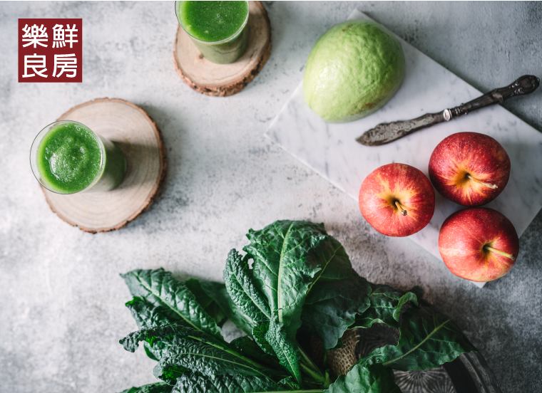 生菜料理應用三:羽衣甘藍綠拿鐵