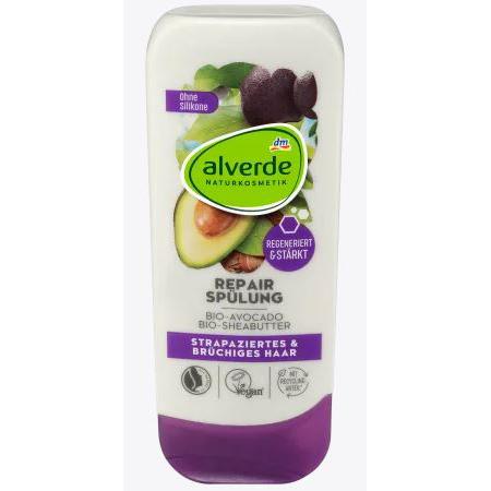 Alverde 有機天然牛油果加乳木果修復護髮素(200毫升) *