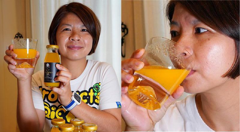 【部落客分享】LUKA543旅咖- 黃金鳳梨纖果汁 飲用心得