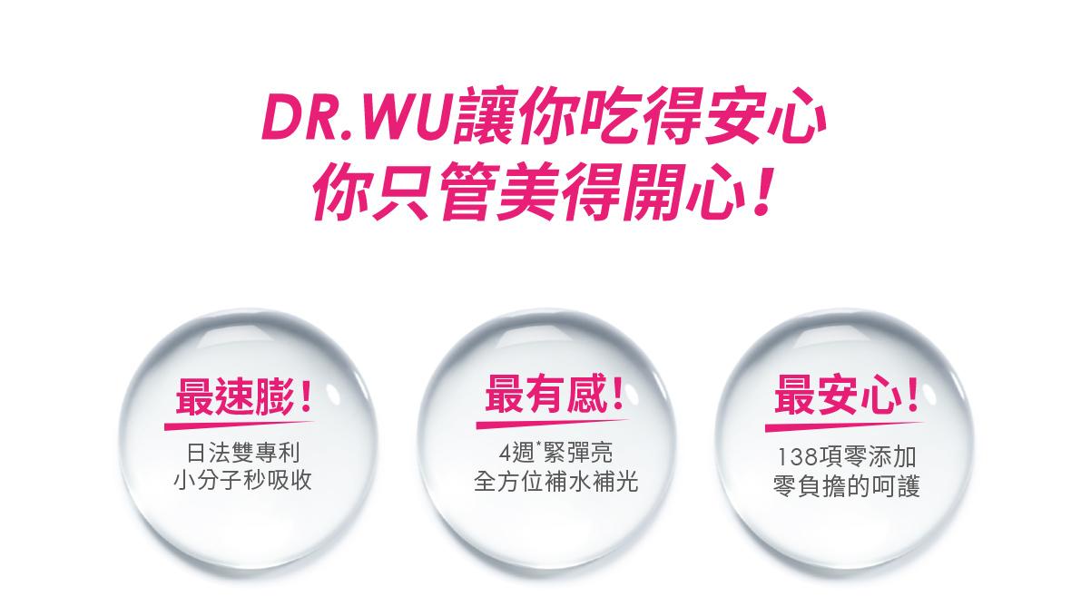 DR.WU讓你吃得安心 你只管美得開心!