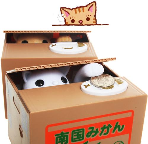 貓咪存錢筒