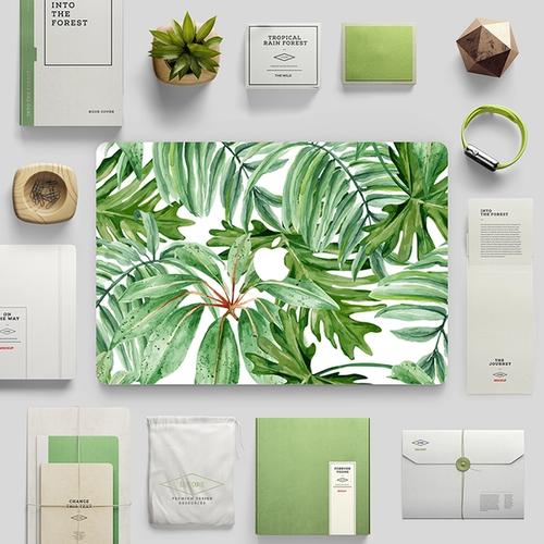 綠意Mac保護貼